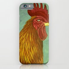 Rooster portrait iPhone 6s Slim Case