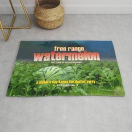 FREE RANGE WATERMELON Rug