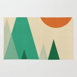 Minimalist Landscape X Rug