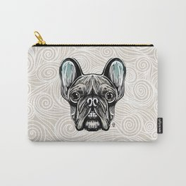 French Bulldog Smilling Carry-All Pouch