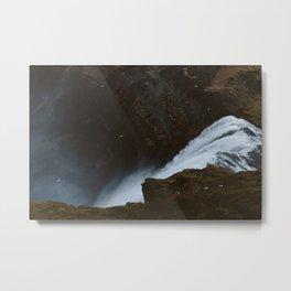 Skogafoss II Metal Print