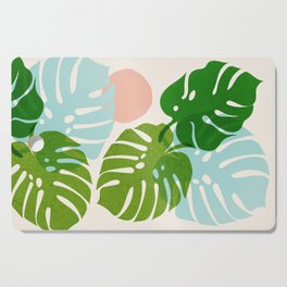 Abstraction_FLORAL_NATURE_Minimalism_001 Cutting Board