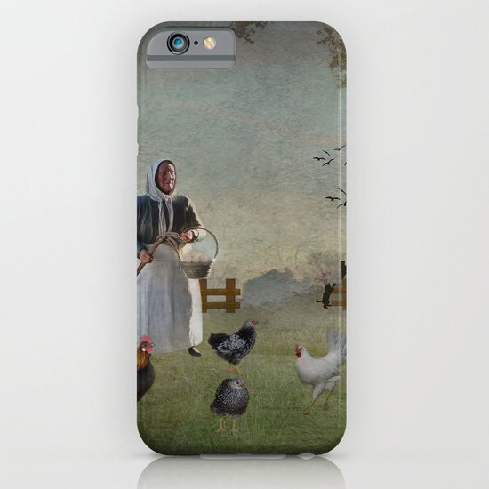 Collecting the Eggs iPhone & iPod Case
