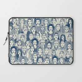 WOMEN OF THE WORLD BLUE Laptop Sleeve