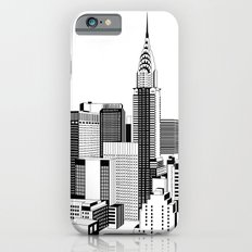 New York Black and White 2 Slim Case iPhone 6s
