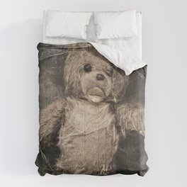 trapped teddy bear Comforters