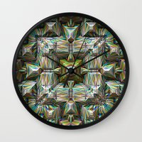 bands Wall Clocks featuring Structural Bands of Color   by Phil Perkins