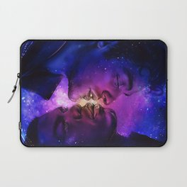 Galaxy in your Eyes Laptop Sleeve