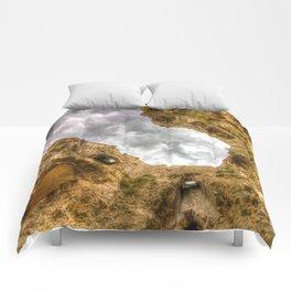 Hadleigh Castle Art Comforters