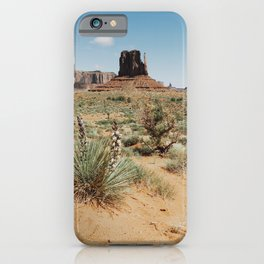 Blooming Southwest Desert Yucca iPhone Case
