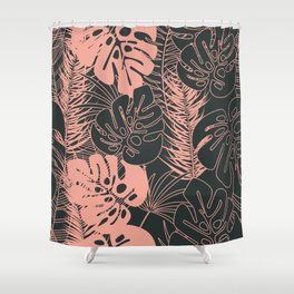 Tropical pattern 034 Shower Curtain