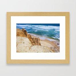 bluffs Framed Art Print