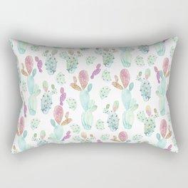 Cacti Familia Rectangular Pillow