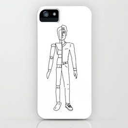 HalfMan iPhone Case