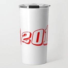 Red 2018 Megaphone Travel Mug