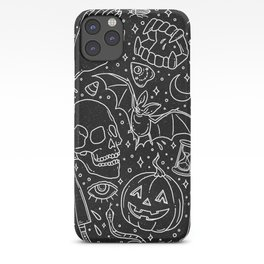 Halloween Horrors iPhone Case