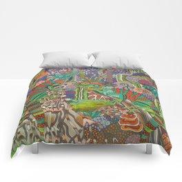 Rainforest Dragons Comforters