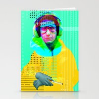 beastie boys Stationery Cards featuring Gioconda Music Project · Beastie Boys · Mike D. by Marko Köppe
