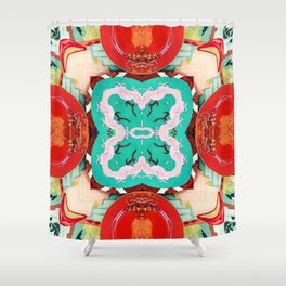 Plate No.1 Shower Curtain