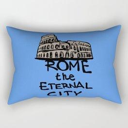 Rome the eternal city Rectangular Pillow