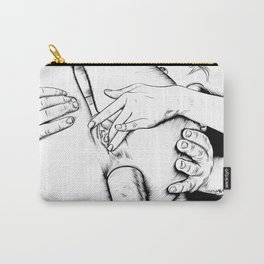 line art anal sex Carry-All Pouch
