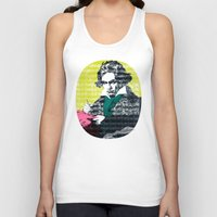 beethoven Tank Tops featuring Ludwig van Beethoven 9 by Marko Köppe
