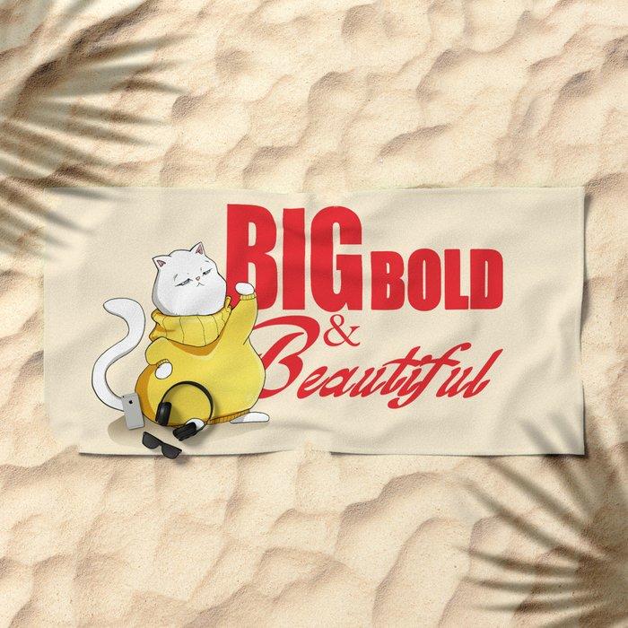 Big Bold & Beautiful Beach Towel