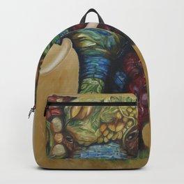 Happy Flower Elephant Backpack