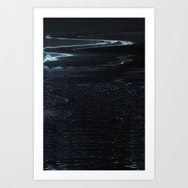 Glytch 19 Art Print