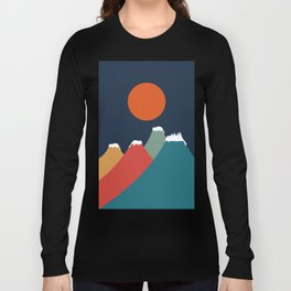 Cat Landscape 10 Long Sleeve T-shirt