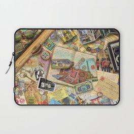 Vintage World Traveler Laptop Sleeve