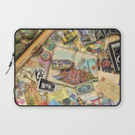 Vintage World Traveler Laptop Sleeve