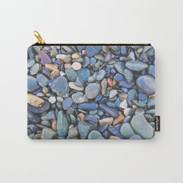 Wet Beach Stones Carry-All Pouch