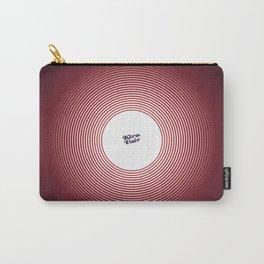 KIROVAIR OPTICAL ILLUSIONS RED CIRCLE #minimal #art #design #kirovair #buyart #decor #home Carry-All Pouch