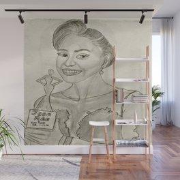 Issa Rae by Ryan Reynolds Wall Mural
