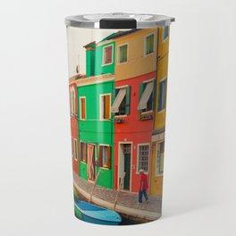 Burano Island III Travel Mug