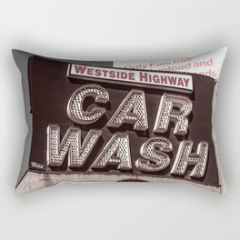Intrepid Car Wash Rectangular Pillow