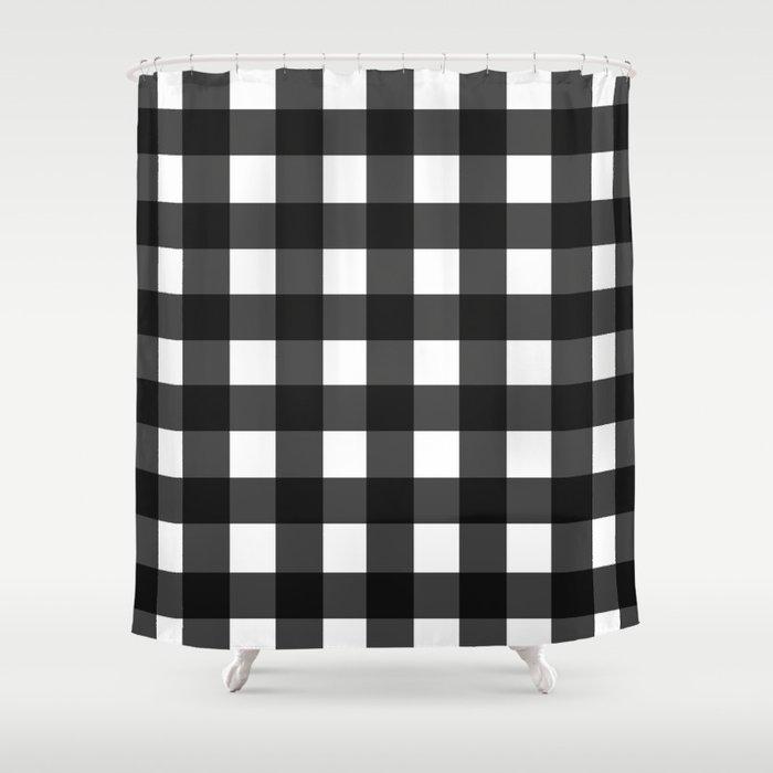 Buffalo Check Shower Curtain