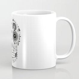 Calavera Mono Coffee Mug