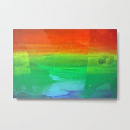 GAY OK Metal Print