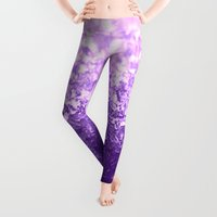 purple Leggings featuring Purple by 2sweet4words Designs