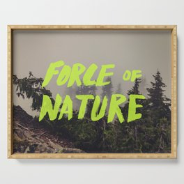 Force of Nature x Cloud Forest Serving Tray
