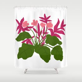 Magenta Magic Shower Curtain