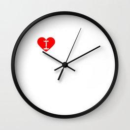 I Heart My Mom | Love My Mom Wall Clock