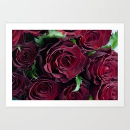 Say it with roses Art Print
