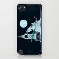 Penguin Space Race iPod touch Slim Case