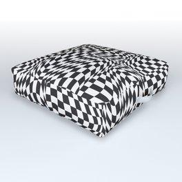 Check Twist Outdoor Floor Cushion