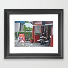 KFC Framed Art Print
