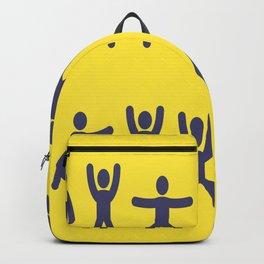 vectors gymnast Backpack