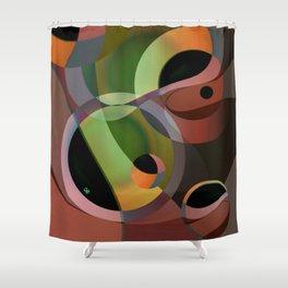 Warm Wind Waning Shower Curtain
